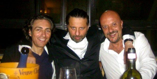 da sinistra Walter Bucciarelli, Christian Iansante, Roberto Pedicini