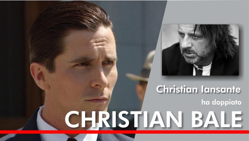 Christian Bale doppiato da Iansante