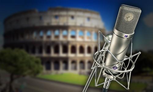 Corso di doppiaggio dell'accademia a Roma